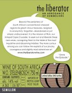 Arrogance-Semillon-label-back
